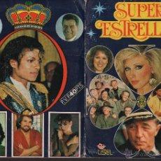 Coleccionismo Álbum: SUPER ESTRELLAS.- EDITORIAL LISEL.- 1982.- 68 CROMOS.- ALBUM COMPLETO.. Lote 50676291