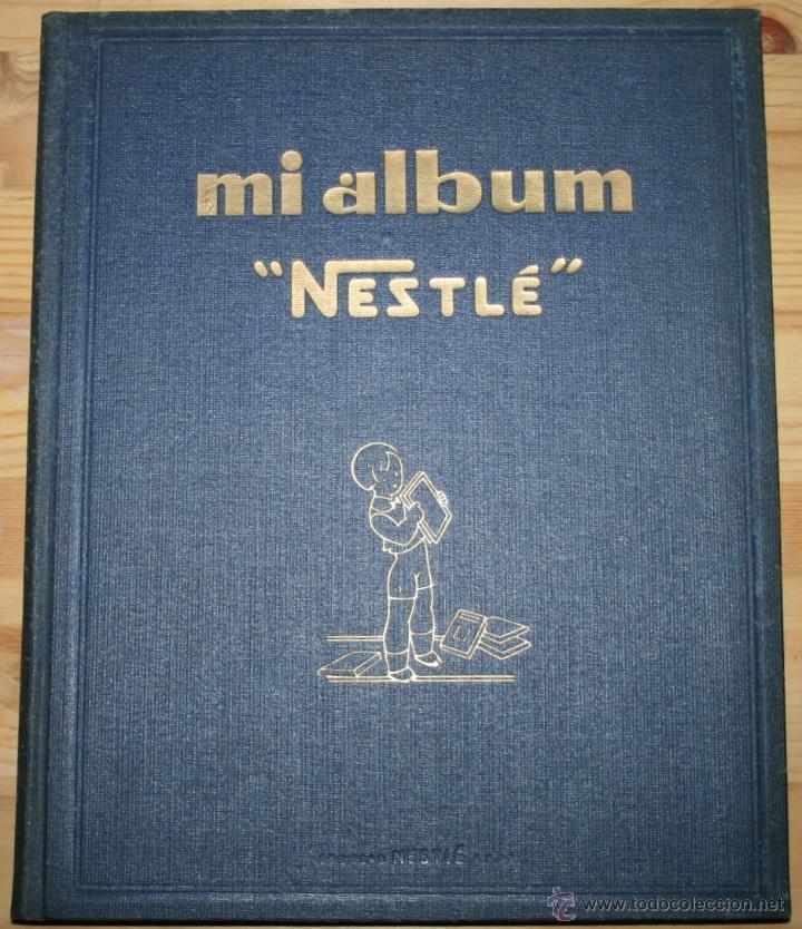 MI ALBUM NESTLÉ - COMPLETO (Coleccionismo - Cromos y Álbumes - Álbumes Completos)