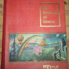 Coleccionismo Álbum: LAS MARAVILLAS DEL UNIVERSO - NESTLÉ - COMPLETO. Lote 50693535
