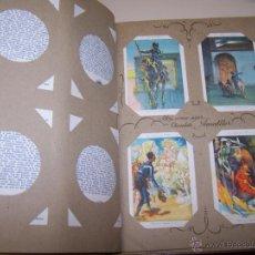 Coleccionismo Álbum: ALBUM DE CHOCOLATES AMATLLER. DON QUIJOTE DE LA MANCHA. ILUSTR. POR SEGRELLES. 80 CROMOS. Lote 50832312