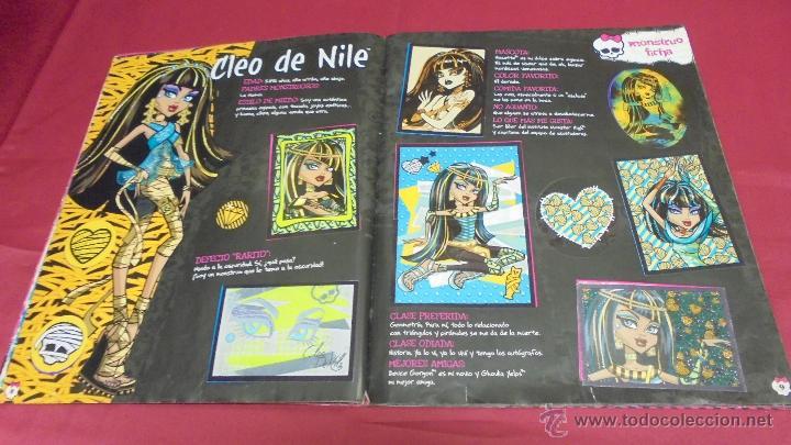 Coleccionismo Álbum: ALBUM DE CROMOS. MONSTER HIGH. COMPLETO. PANINI. - Foto 6 - 50832760