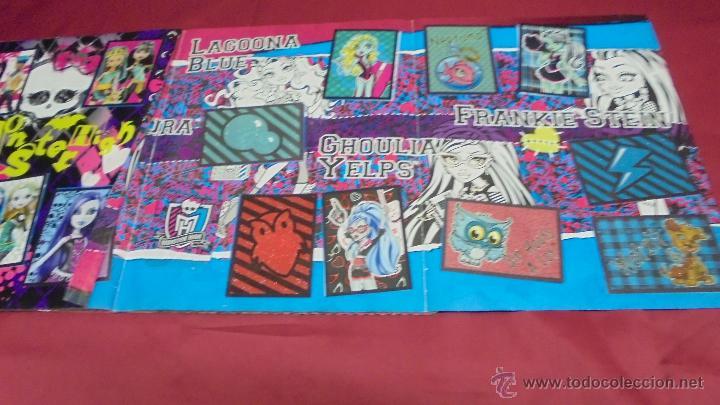 Coleccionismo Álbum: ALBUM DE CROMOS. MONSTER HIGH. COMPLETO. PANINI. - Foto 11 - 50832760