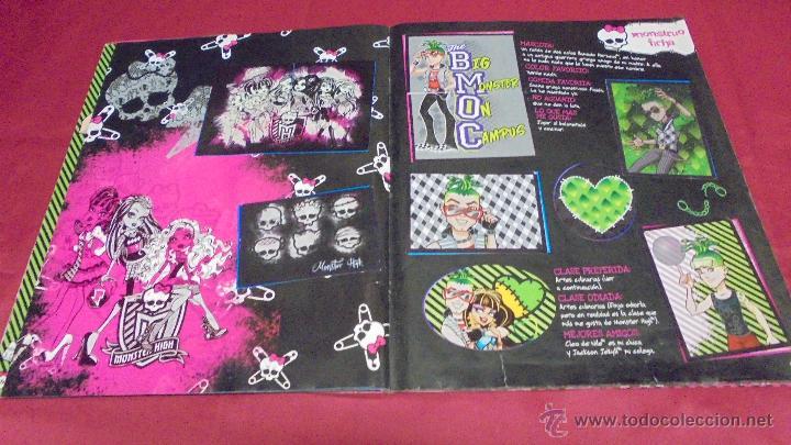Coleccionismo Álbum: ALBUM DE CROMOS. MONSTER HIGH. COMPLETO. PANINI. - Foto 12 - 50832760