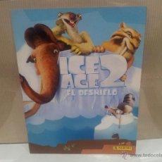 Coleccionismo Álbum: ALBUM ICE AGE 2 EL DESHIELO NUEVO Y COMPLETO. Lote 50850959