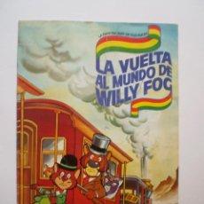 Coleccionismo Álbum: ALBUM LA VUELTA AL MUNDO DE WILLY FOG- COMPLETO- DANONE. Lote 50992196