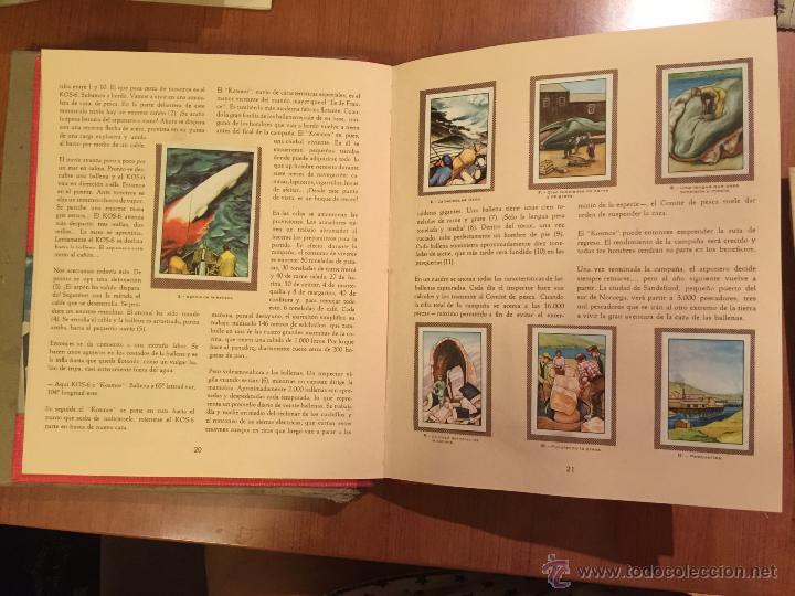 Coleccionismo Álbum: ESPECTACULAR ALBUM LAS MARAVILLAS DEL UNIVERSO COMPLETO. CON SOBRE DE ENVIO ORIGINAL. - Foto 2 - 51093942