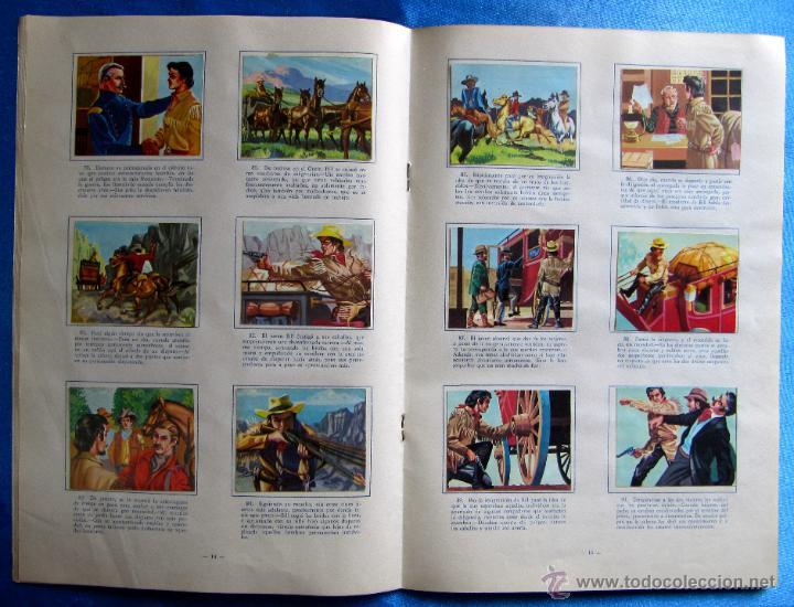 Coleccionismo Álbum: ÁLBUM COMPLETO. VIDA Y AVENTURAS DE BUFFALO BILL. 168 LÁMINAS A TODO COLOR. EDICIONES FERCA, 1962. - Foto 4 - 51102749