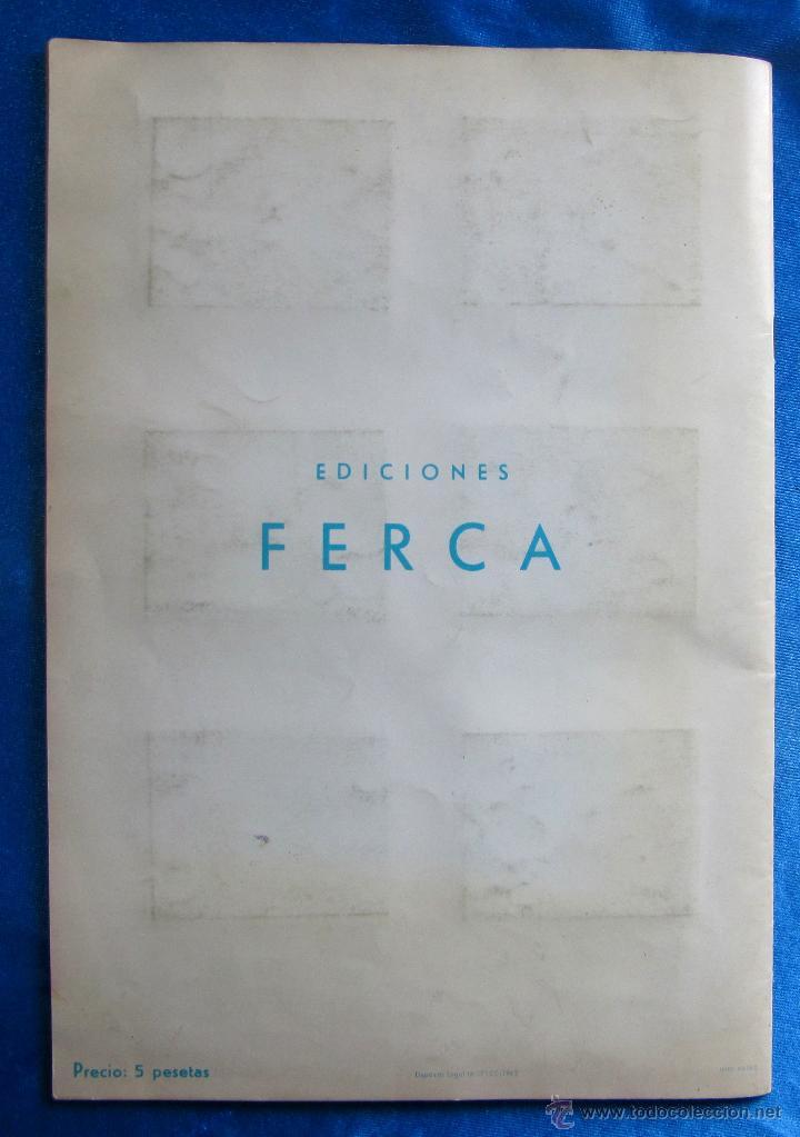 Coleccionismo Álbum: ÁLBUM COMPLETO. VIDA Y AVENTURAS DE BUFFALO BILL. 168 LÁMINAS A TODO COLOR. EDICIONES FERCA, 1962. - Foto 6 - 51102749