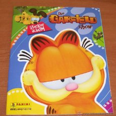 Coleccionismo Álbum: THE GARFIELD SHOW. ALBUM DE CROMOS PANINI COMPLETO. Lote 51197172