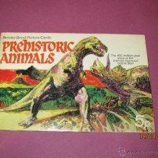 Coleccionismo Álbum: ANTIGUO ALBUM ANIMALES PREHISTORICOS OBSEQUIO DEL TE BROOKE BOND COMPLETO EN INGLES - AÑO 1950S.. Lote 51235704