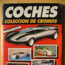 Coleccionismo Álbum: ÁLBUM DE CROMOS COCHES, ED. CUSCÓ/AUTOPISTA, COMPLETO 192 CROMOS, AÑO 1990 (A). Lote 51356302