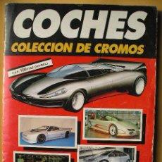 Coleccionismo Álbum: ÁLBUM DE CROMOS COCHES, ED. CUSCÓ/AUTOPISTA, COMPLETO 192 CROMOS, AÑO 1990 (B). Lote 51356365