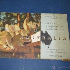 Coleccionismo Álbum: ALBUM AUSTRALIA OBSEQUIO DEL TE LIONS COMPLETO INGLES 1930S. Lote 51357621