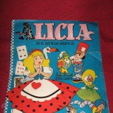 Coleccionismo Álbum: ALBUM COMPLETO DE ALICIA EN EL PAIS DE LAS MARAVILLAS DE CLIPER - GERPLA - EL DE LAS FOTOS. Lote 51389060