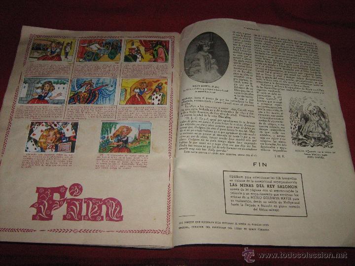 Coleccionismo Álbum: ALBUM COMPLETO DE ALICIA EN EL PAIS DE LAS MARAVILLAS DE CLIPER - GERPLA - EL DE LAS FOTOS - Foto 2 - 51389060