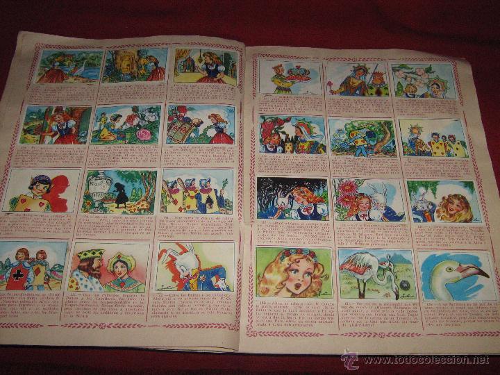 Coleccionismo Álbum: ALBUM COMPLETO DE ALICIA EN EL PAIS DE LAS MARAVILLAS DE CLIPER - GERPLA - EL DE LAS FOTOS - Foto 5 - 51389060
