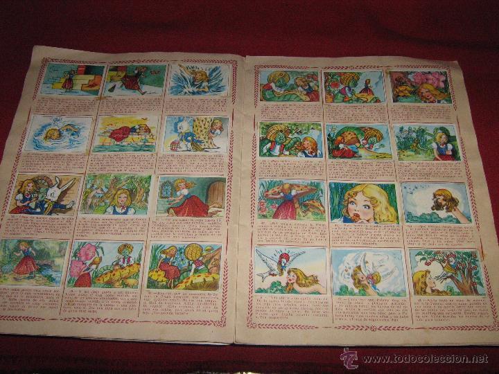 Coleccionismo Álbum: ALBUM COMPLETO DE ALICIA EN EL PAIS DE LAS MARAVILLAS DE CLIPER - GERPLA - EL DE LAS FOTOS - Foto 8 - 51389060