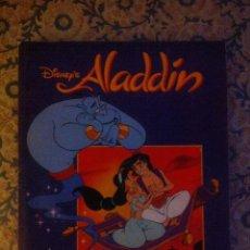 Coleccionismo Álbum: ALADDIN ALBUM DE CROMOS COMPLETO PANINI WALT DISNEY. Lote 51676570