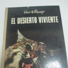 Coleccionismo Álbum: ALBUM COMPLETO EL DESIERTO VIVIENTE WALT DISNEY EDIT SUDAMERICANA ARGENTINA XG22. Lote 51686711