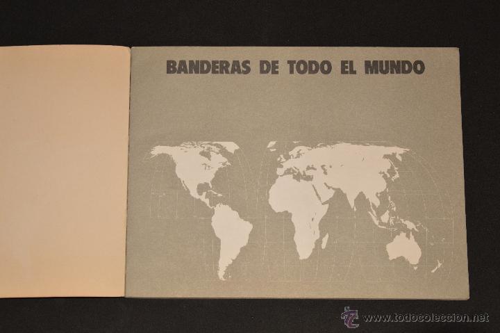 Coleccionismo Álbum: ALBUM CROMOS COMPLETO BANDERAS DE TODO EL MUNDO SALVAT 1973 - Foto 2 - 51689487