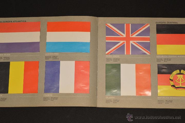 Coleccionismo Álbum: ALBUM CROMOS COMPLETO BANDERAS DE TODO EL MUNDO SALVAT 1973 - Foto 4 - 51689487