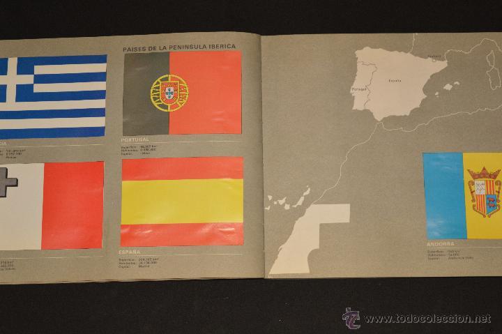 Coleccionismo Álbum: ALBUM CROMOS COMPLETO BANDERAS DE TODO EL MUNDO SALVAT 1973 - Foto 6 - 51689487