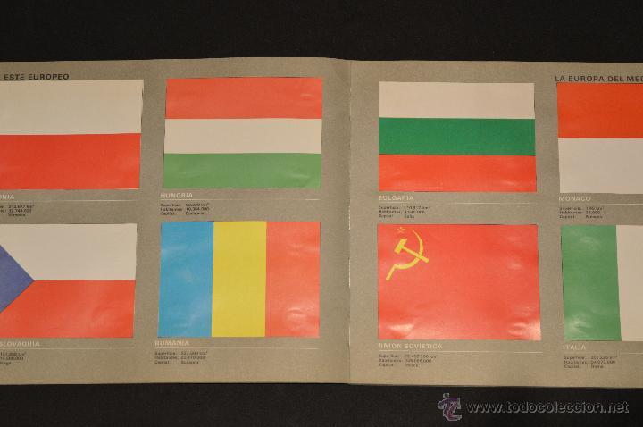 Coleccionismo Álbum: ALBUM CROMOS COMPLETO BANDERAS DE TODO EL MUNDO SALVAT 1973 - Foto 7 - 51689487
