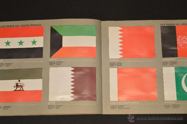 Coleccionismo Álbum: ALBUM CROMOS COMPLETO BANDERAS DE TODO EL MUNDO SALVAT 1973 - Foto 11 - 51689487