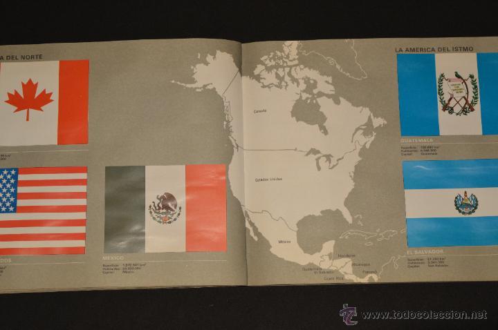 Coleccionismo Álbum: ALBUM CROMOS COMPLETO BANDERAS DE TODO EL MUNDO SALVAT 1973 - Foto 16 - 51689487