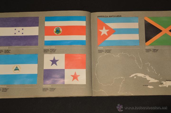 Coleccionismo Álbum: ALBUM CROMOS COMPLETO BANDERAS DE TODO EL MUNDO SALVAT 1973 - Foto 17 - 51689487