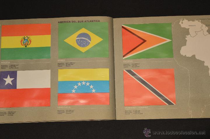 Coleccionismo Álbum: ALBUM CROMOS COMPLETO BANDERAS DE TODO EL MUNDO SALVAT 1973 - Foto 19 - 51689487
