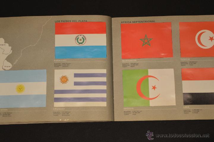 Coleccionismo Álbum: ALBUM CROMOS COMPLETO BANDERAS DE TODO EL MUNDO SALVAT 1973 - Foto 20 - 51689487