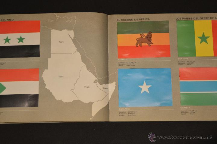 Coleccionismo Álbum: ALBUM CROMOS COMPLETO BANDERAS DE TODO EL MUNDO SALVAT 1973 - Foto 22 - 51689487