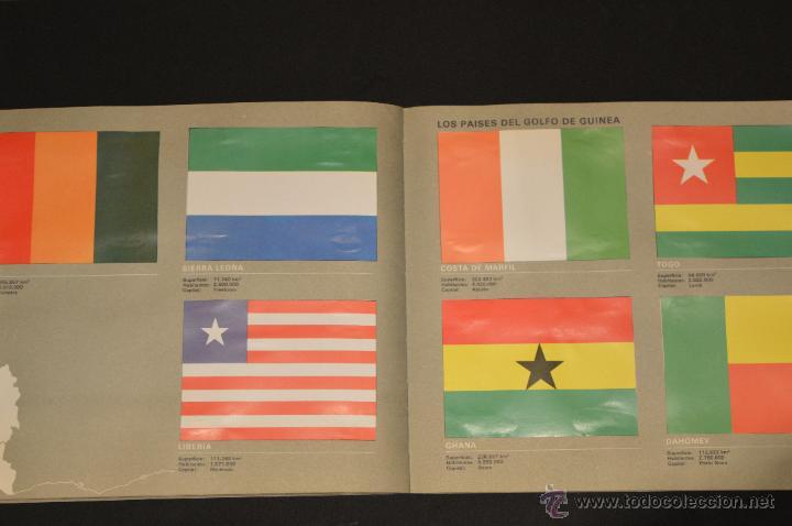Coleccionismo Álbum: ALBUM CROMOS COMPLETO BANDERAS DE TODO EL MUNDO SALVAT 1973 - Foto 23 - 51689487