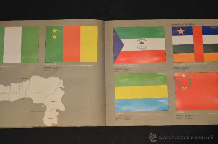 Coleccionismo Álbum: ALBUM CROMOS COMPLETO BANDERAS DE TODO EL MUNDO SALVAT 1973 - Foto 24 - 51689487