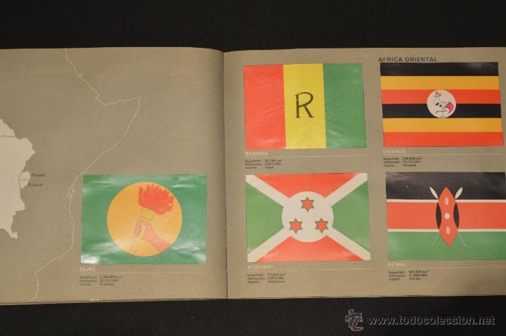 Coleccionismo Álbum: ALBUM CROMOS COMPLETO BANDERAS DE TODO EL MUNDO SALVAT 1973 - Foto 25 - 51689487