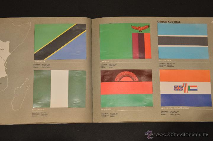 Coleccionismo Álbum: ALBUM CROMOS COMPLETO BANDERAS DE TODO EL MUNDO SALVAT 1973 - Foto 26 - 51689487