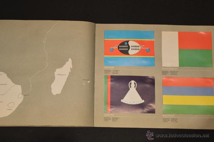 Coleccionismo Álbum: ALBUM CROMOS COMPLETO BANDERAS DE TODO EL MUNDO SALVAT 1973 - Foto 27 - 51689487