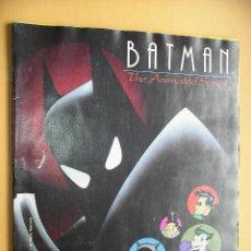 Coleccionismo Álbum: ÁLBUM DE CROMOS BATMAN ANIMATED SERIES, COMPLETO 216 CROMOS, ED. PANINI, AÑO 1993 ERCOM (B). Lote 51714744