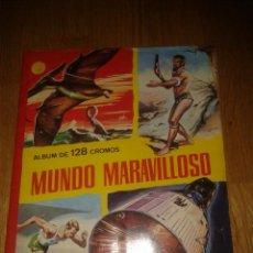 Coleccionismo Álbum: ALBUM MUNDO MARAVILLOSO DE FERMA. COMPLETO 1965. Lote 51726305