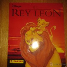 Coleccionismo Álbum: ALBUM EL REY LEON DISNEY PANINI COMPLETO. Lote 51727263