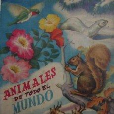 Coleccionismo Álbum: ALBUM COMPLETO: ANIMALES DE TODO EL MUNDO - EDITORIAL FHER. Lote 51805749