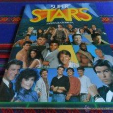 Coleccionismo Álbum: SUPER STARS COMPLETO 216 CROMOS. EDICIONES ESTE 1986. DIFÍCIL Y MUY BUEN ESTADO GENERAL.. Lote 52170966