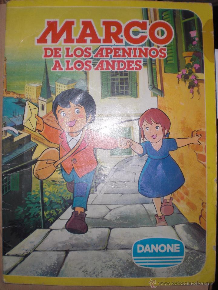 album cromos marco de los apeninos a los andes - Comprar Álbumes ...