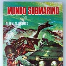 Coleccionismo Álbum: ALBUM COMPLETO MUNDO SUBMARINO.. Lote 52458455
