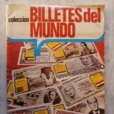 Coleccionismo Álbum: ALBUM - COMPLETO - BILLETES DEL MUNDO - EDICIONES ESTE 1974. Lote 52513903