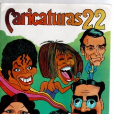 Coleccionismo Álbum: ALBUM CARICATURAS 22 COMPLETO Y NUEVO. Lote 52522205