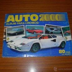 Coleccionismo Álbum: AUTO 2000 COMPLETO DE COMIC ROMO . Lote 52556273