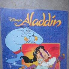 Coleccionismo Álbum: ALBUM COMPLETO PANINI ALADDIN DE WALT DISNEY . Lote 52636563