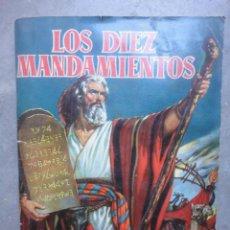 Coleccionismo Álbum: ALBUM COMPLETO LOS DIEZ MANDAMIENTOS DE BRUGUERA 1959. Lote 52742528